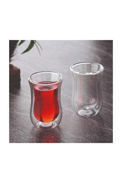 Çift Cidarlı 2'li Çay Bardağı