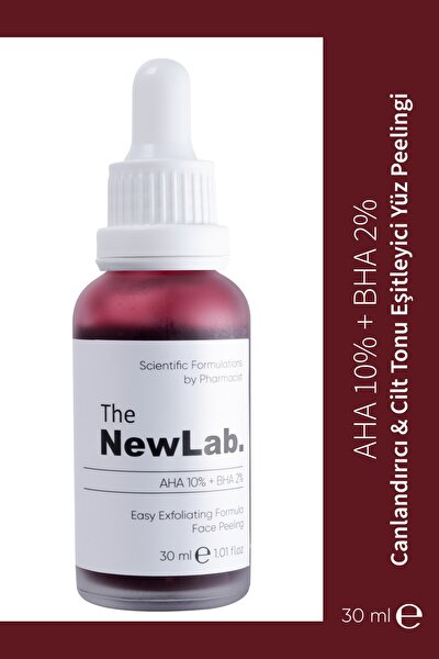 Canlandırıcı & Cilt Tonu Eşitleyici Yüz Peeling Serum 30 Ml (aha 10% + Bha 2%)
