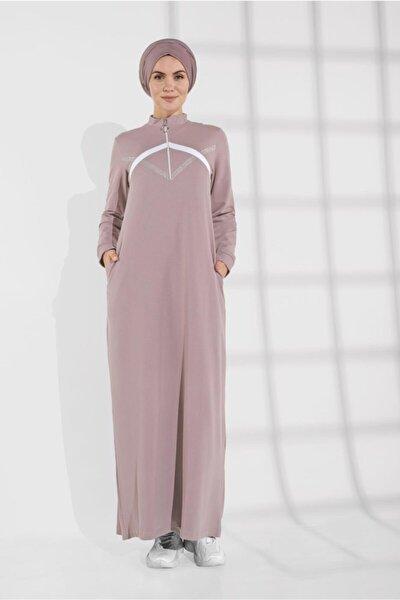 Taş Baskılı Eşofman Elbise 5309