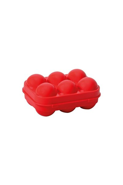 Yumurta Saklama Kutusu Kırmızı