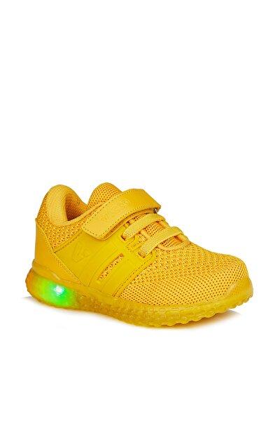 Flash Unisex Bebe Sarı Spor Ayakkabı