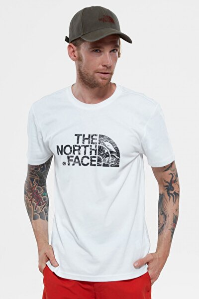 Erkek T-shirt - Woodcut Dome Erkek Tişört