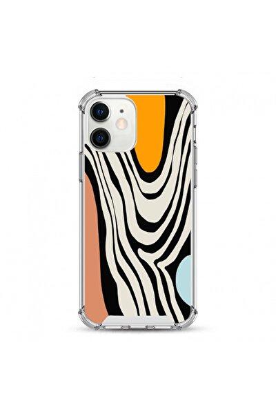 -apple Iphone 11 Uyumlu Darbe Koruyuculu Damla Baskı Silikon Kılıf
