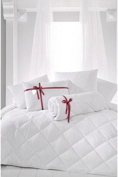 Tek Kişilik Antialerjik Lüx Microfiber Yorgan + 1 Adet 800 Gr Boncuk Slikon Yastık Seti