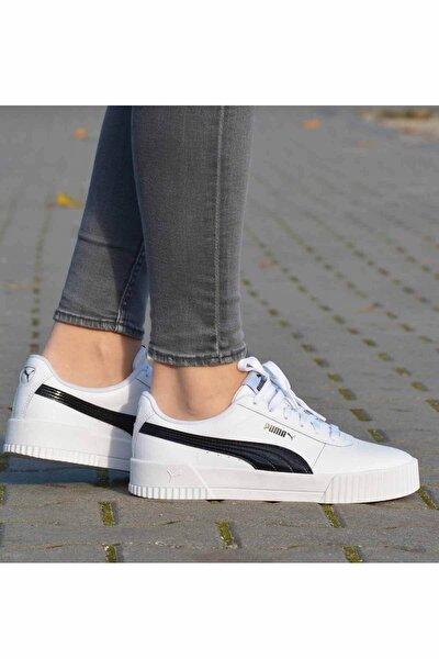 Carina Pfs Wn's Kadın Günlük Spor Ayakkabı 371212 02 Beyaz-syh