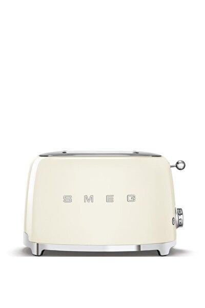 Beyaz Tsf01creu Retro Krem 2x2 Slot Ekmek Kızartma Makinesi