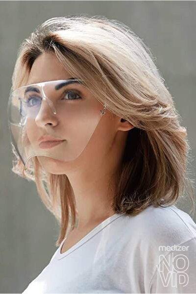 Novid Süper Gözlük Tipi Koruyucu Yüz Siperliği