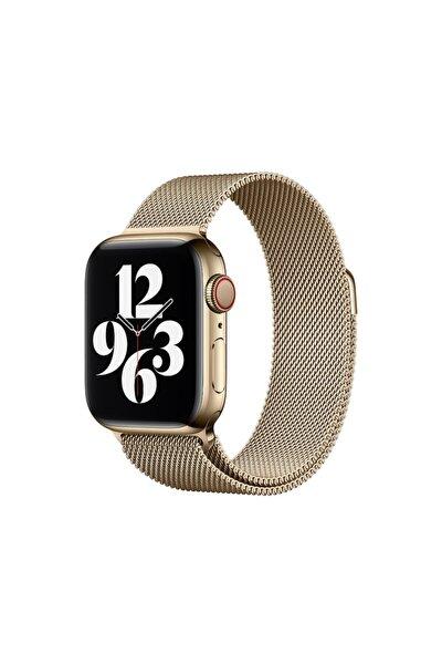 Apple Watch 6 40 Mm Metal Hasır Paslanmaz Çelik Kayış Kordon Loop