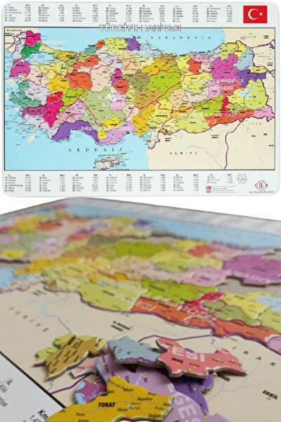 Türkiye Puzzle - 81 Parça Türkiye Haritası Puzzle 28x40cm