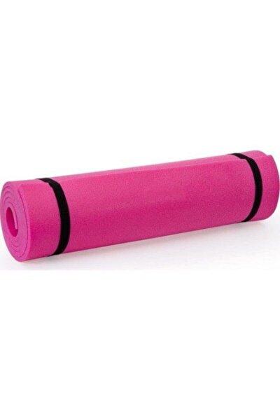 Pembe Çift Taraflı Yoga Pilates Matı Egzersiz Halısı 150x50x0,7 cm