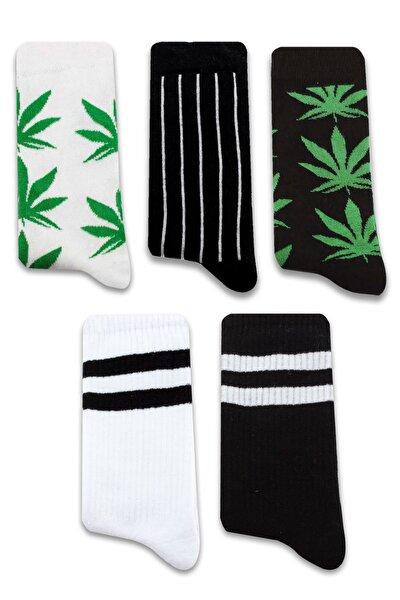 Sokak Modası 2, Desenli 5 'li Çorap Seti