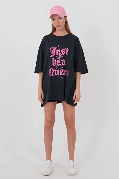 Yazı Baskılı T-shirt P9410 - A8