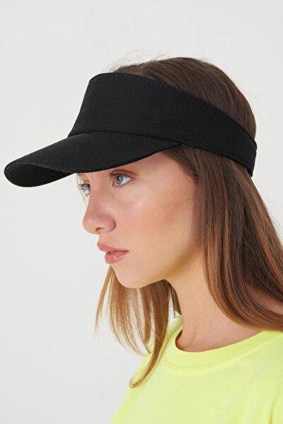 Kadın Siyah Üstü Açık Şapka ŞPK1004 - AKS ADX-0000021790