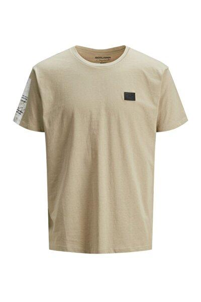 Jortype Tee Ss Crew Neck Blk Erkek Bej Bisiklet Yaka T-Shirt 12185218