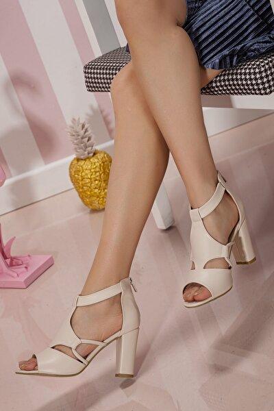 Kadın Günlük Klasik Topuklu Ayakkabı