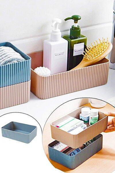 Banyo Mutfak Düzenleyici Plastik Geniş Kutu 20x14cm