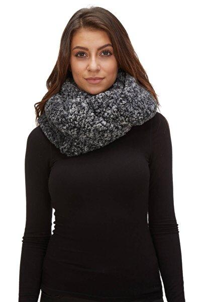 Kadın Boyunluk Kürk Kışlık Siyah 11259