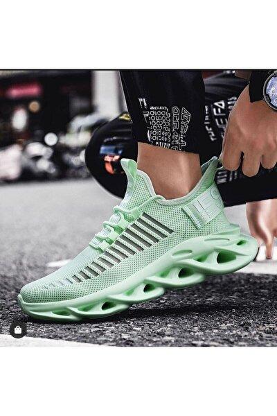 Ba0602 Phantom Yüksek Taban Tarz Sneakers Mint Yeşil Erkek Spor Ayakkabısı