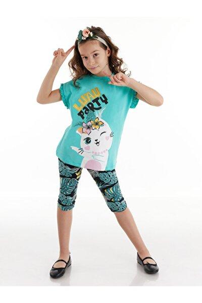Cat Party Kız Tunik Takım