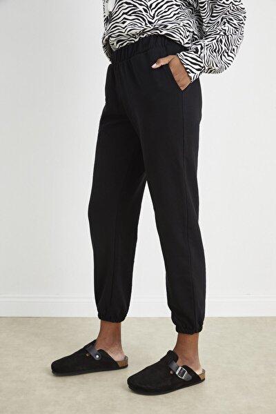 Kadın Siyah Jogger Pantolon