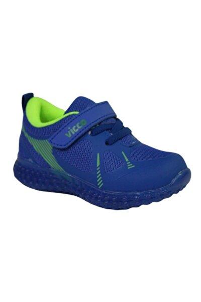 313.p21y.105 Figo Saks Mavi AnatomikIşıklı Ayakkabı