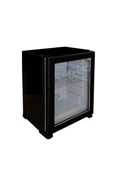 Mn Nh 60 Litre Cam Kapı Mini Bar Siyah Mnc60nhnms