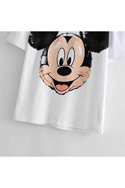 Ön Arka Karakter Baskılı T-shirt