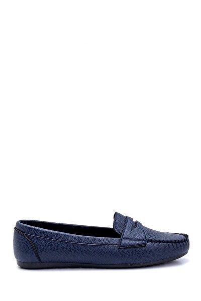 Kadın Lacivert Loafer Ayakkabı