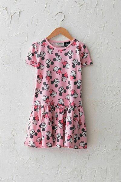 Kız Çocuk Pembe G0G Elbise