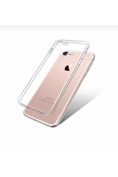 Iphone 7 & 8 Şeffaf Kılıf Düz Silikon