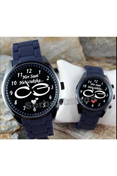 Sevgiliye Hediye Sevgili Saatleri Çift Saat Kombini Sevgililer Günü Hediyeleri Erkek Bayan Kol Saati