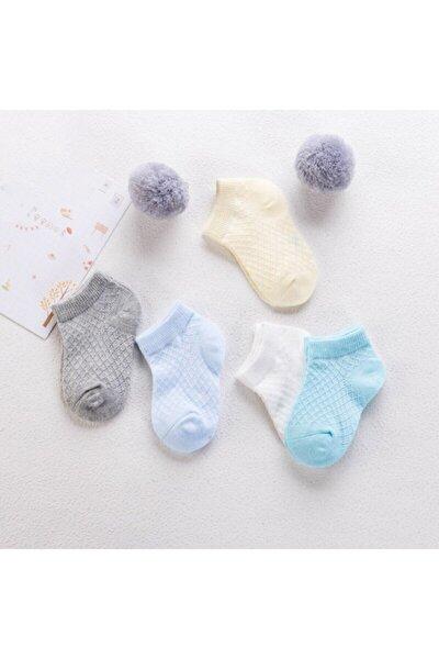 Yenidoğan Bebek Çorabı 5'li Set 3 Boy