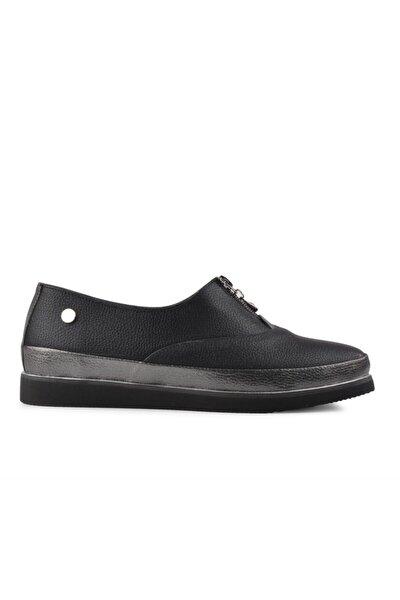 51226 Siyah Kadın Günlük Ayakkabı