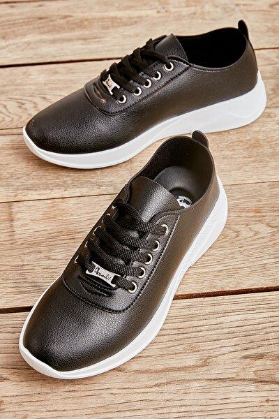 Siyah Kadın Sneaker K01543100009
