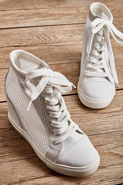 Beyaz Kadın Casual Ayakkabı K01503520022