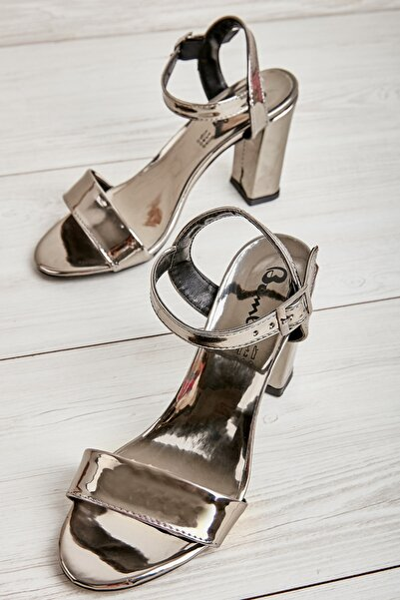 Kurşun Kadın Klasik Topuklu Ayakkabı K05503740039