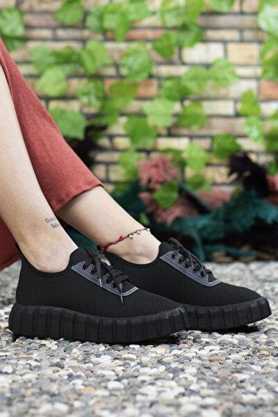 Kadın Siyah Sneaker 0012113