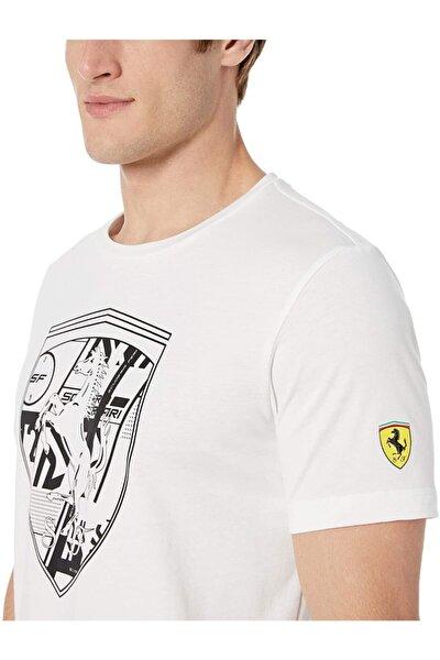 Men's Scuderia Ferrari Big Shield Tee + T-shirt: