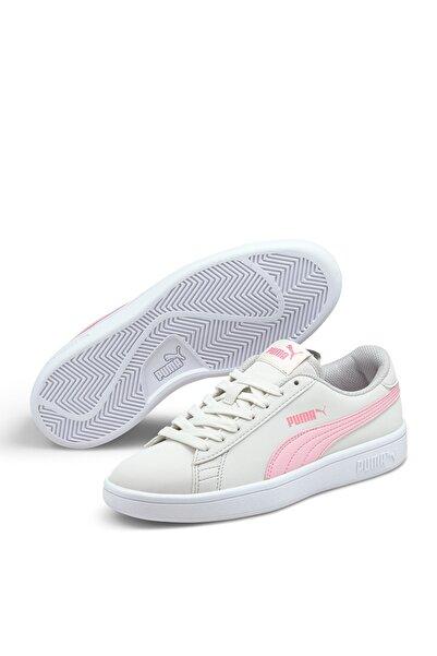 SMASH V2 BUCK JR Beyaz Erkek Çocuk Sneaker Ayakkabı 101085440