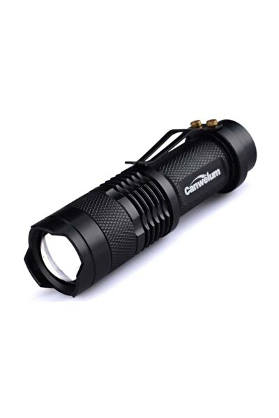 Km-87 Şarjlı Mini Led El Feneri Cree Led 2300 Lumens