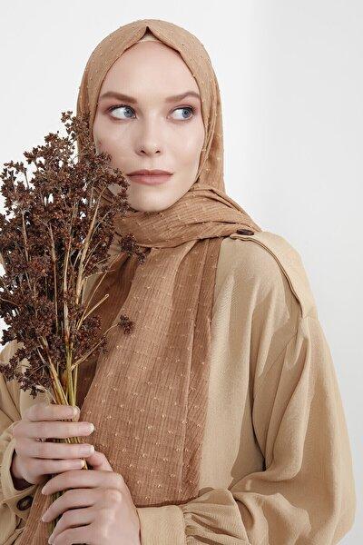 Kadın Kahverengi Şal