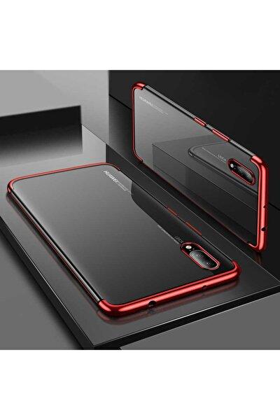 P20 Lite Kılıf Lazer Boyalı Renkli Esnek Silikon Şeffaf