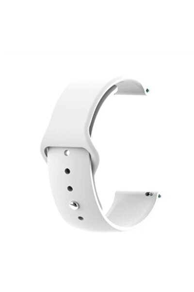 Huawei Gt 2  Honor Magic Watch 2 46mm Uyumlu Akıllı Saat Düz Silikon Kordon