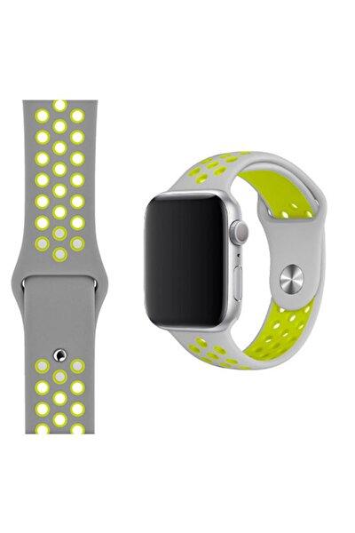 Apple Watch Uyumlu Spor Delikli Silikon Kordon 42-44 mm