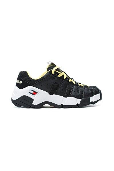 Erkek Siyah Heritage Chunky Sneaker Ayakkabı