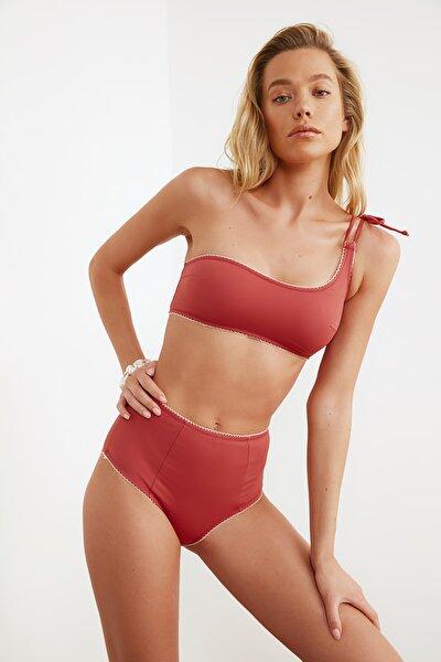 Tarçın Yüksek Bel  Bikini Altı TBESS21BA0106