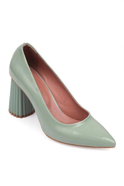 Yüksek Kalın Topuklu Kadın Ayakkabı