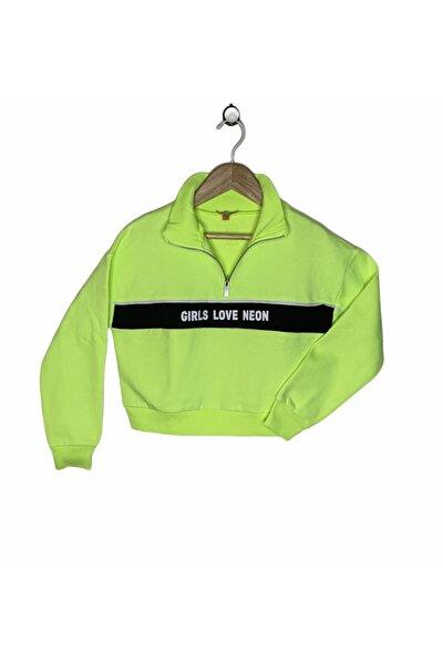Fosforlu Crop Sweatshirt
