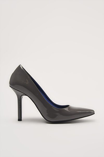 Gri  Klasik Topuklu Ayakkabı 01AYH213600A230