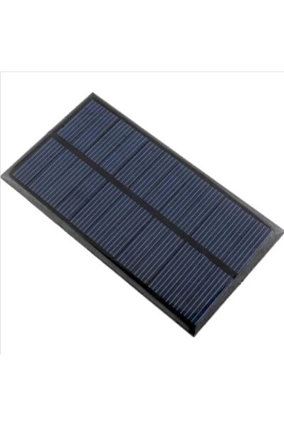 Güneş Paneli, 52x27mm 1.5v / 100ma Mono Solar Panel Enerjisi